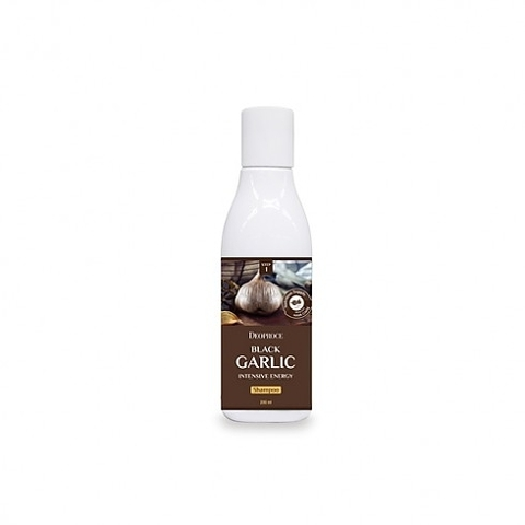 DEOPROCE HAIR BLACK GARLIC Шампунь для волос с черн. чесноком BLACK GARLIC INTENSIVE ENERGY SHAMPOO 200ml 200мл