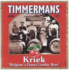 Пиво Timmermans Kriek Lambic