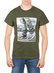 0011-7 футболка мужская, хаки