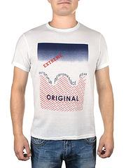 17615-7 футболка мужская, белая