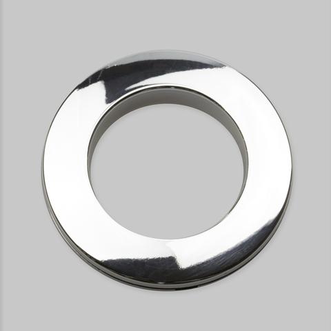 Люверсы для штор серебро глянец. D-35 см.