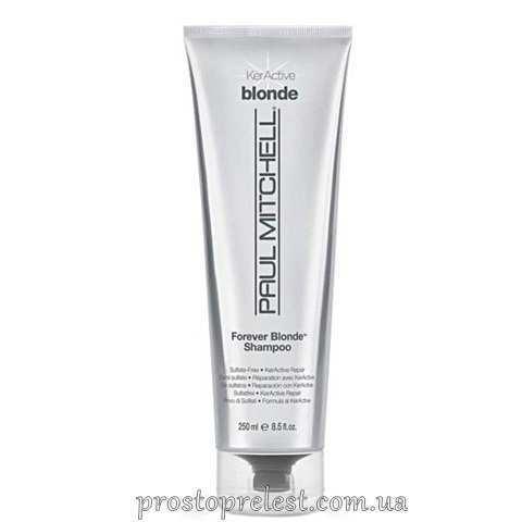 Paul Mitchell Forever Blonde - Шампунь для осветленных волос (безсульфатный)