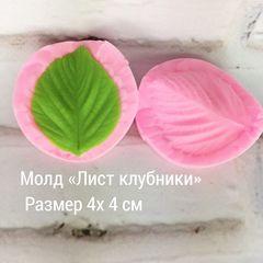 Молд Лист клубники,земляники