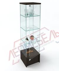 Вк-450-П Витрина стеклянная с подиумом