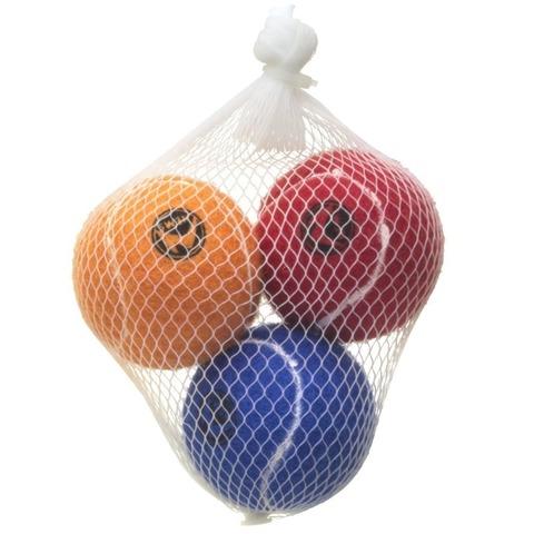 NEMS игрушка для собак мяч малый с пищалкой 4,8 см (набор 3 шт)