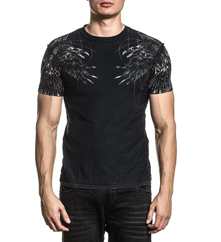 Двусторонняя футболка Affliction UPSURGE