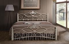 Кровать Канцона 200x180 (Canzona) Белый