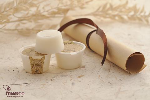 Масло косметическое твердое (баттер) для тела и рук Тропический душ с витамином Е, 25 г ТМ Мылофф
