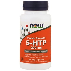 NOW 5-HTP (200mg) (60 caps.)