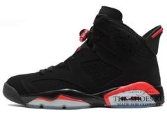 Кроссовки Мужские Nike Air Jordan VI Black Red