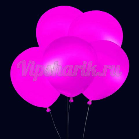 Светящиеся шары фиолетовые