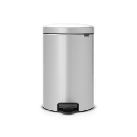 Мусорный бак newicon (20 л), Серый металлик, арт. 114069 - фото 1