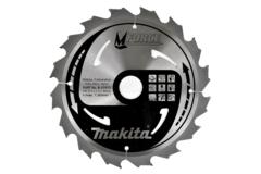 Пильный диск по дереву Makita M-FORCE 210*30*2,3 мм/40