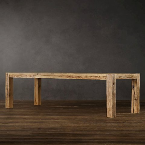 Столы Стол 180 см Restoration Hardware Парсон stol-restoration-hardware-parson-ssha.jpeg