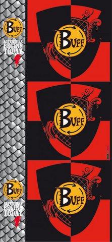 Бандана-повязка на голову летняя Buff Official 11