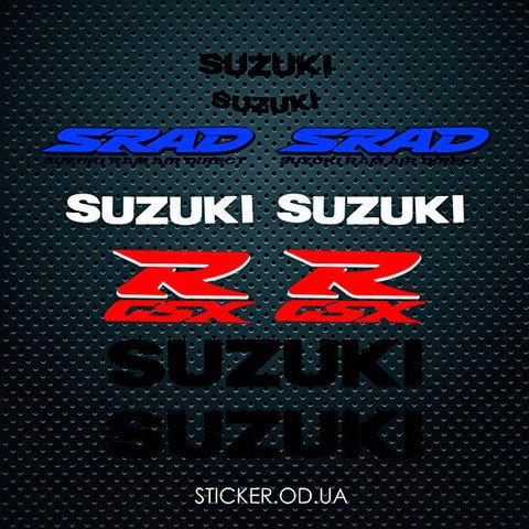 Набор наклеек Suzuki 750 GSX R 1996