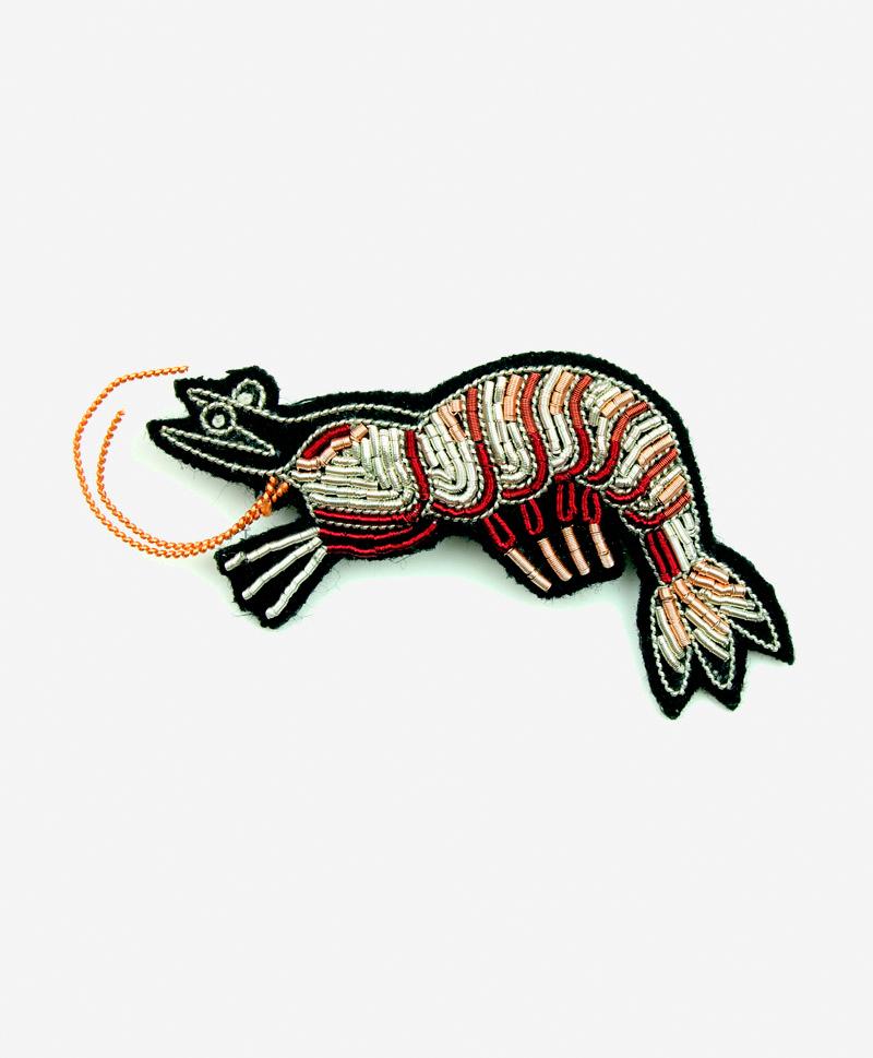 Брошь Shrimp