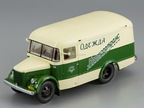PAZ-661 Van Clothing Mostorgtrans 1956 DIP 1:43
