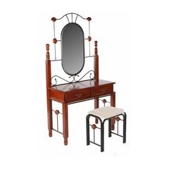 Туалетный столик с банкеткой DT-4 (MK-1930-RO) Rose Oak