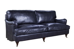 кресло Sofa-Dark Retro leather RS170-3
