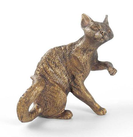 Девон-рекс кошка (бронза)