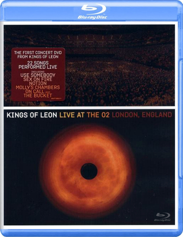 Kings Of Leon ‎/ Live At The O2 London, England (Blu-ray)