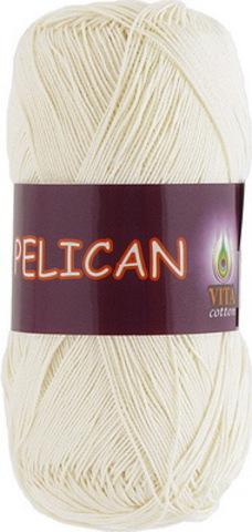 Пряжа Pelican (Vita cotton) 3993 Молочный