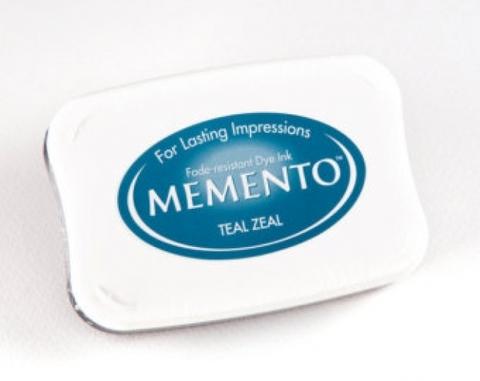 Штемпельная подушечка MEMENTO - TEAL ZEAL
