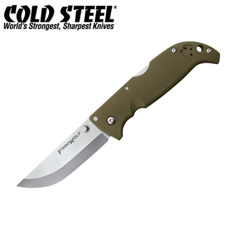 Нож Cold Steel модель 20NPFZ Finn Wolf OD Green