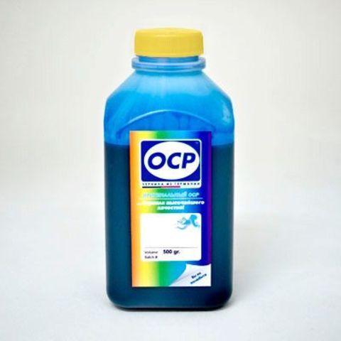 Чернила водные голубые OCP C9142 для HP 72 - 500 мл