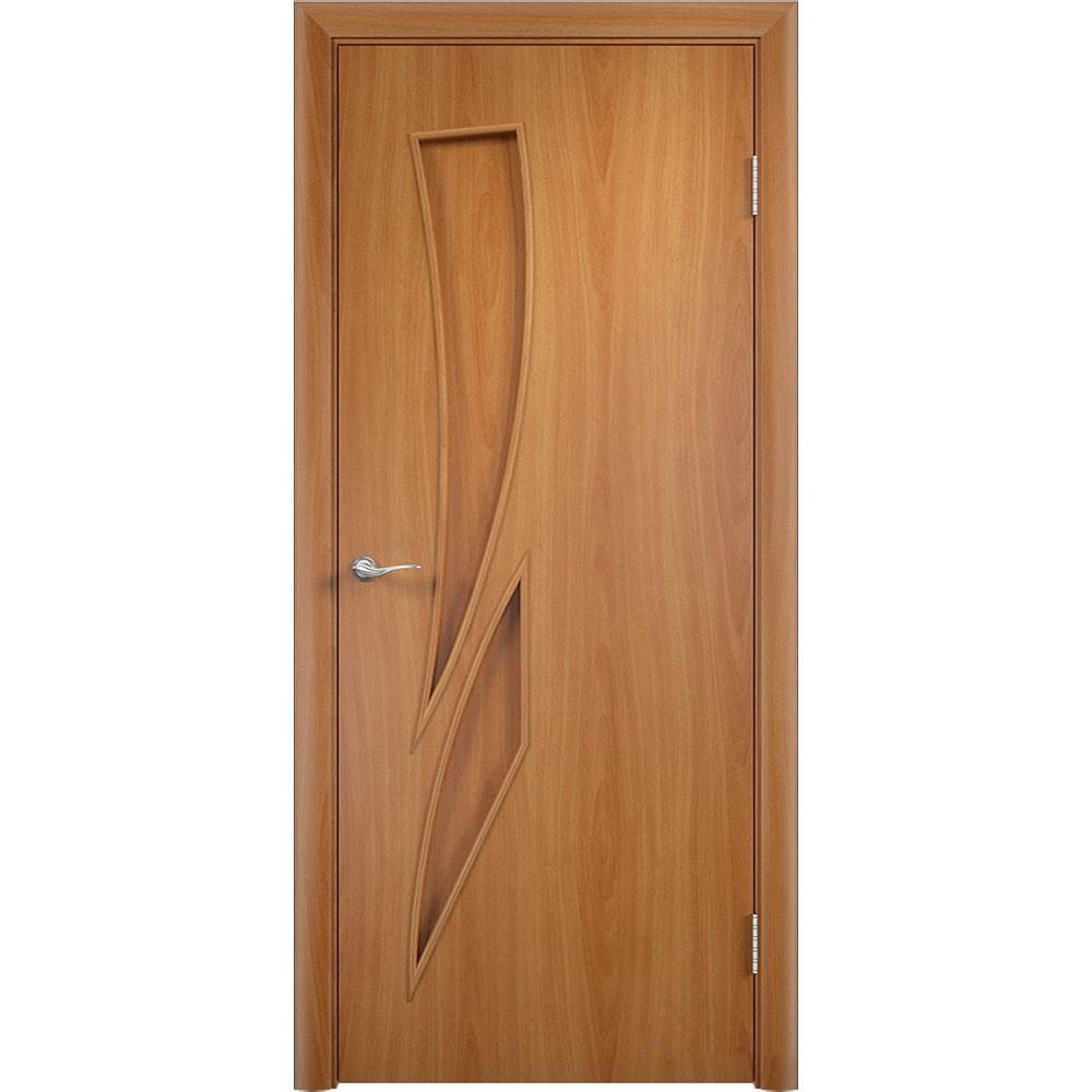 Ламинированные двери Стрелиция миланский орех без стекла streliciya-pg-milan-oreh-dvertsov-min.jpg