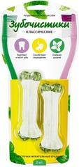 Зубочистики косточки жевательные средние 2 шт