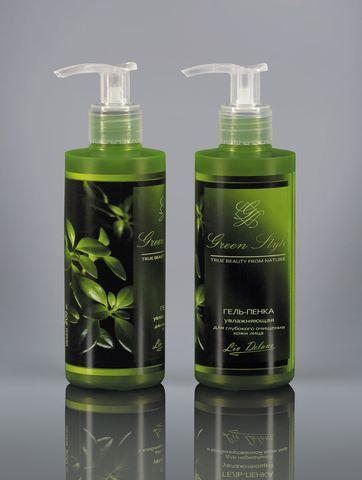 Liv delano Green Style Гель-пенка увлажняющая для глубокого очищения 190г