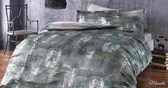 Постельное белье  MARSALIS серый  TIVOLYO HOME Турция