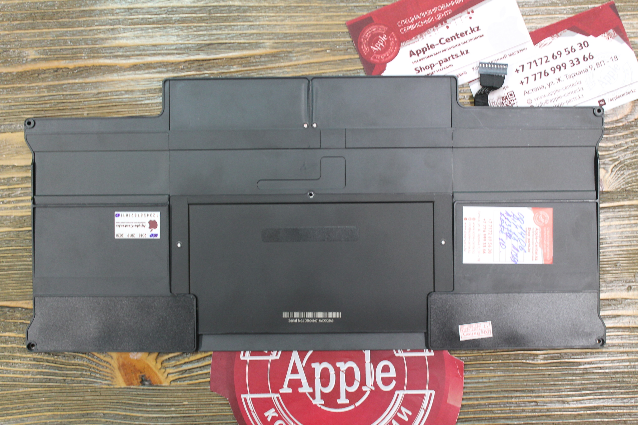 Аккумулятор MacBook Air 13 A1369 50Wh 7.3V A1377 Late 2010