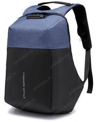 Рюкзак Антивор с кодовым замком FS959 Синий
