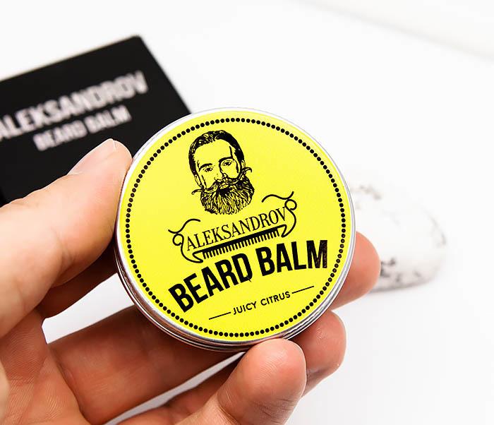 RAZ424-1 Бальзам для бороды Aleksandrov «Juicy Citrus» (13 гр) фото 05