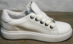 Красивые женские кеды Molly shoes 557 Whate