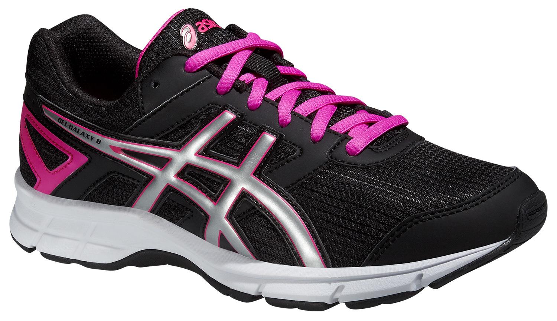 Детские кроссовки Asics Gel-Galaxy 8 GS (C520N 9093) для девочек - спортивная обувь для бега и занятий физкультурой