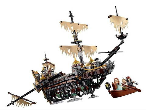 Конструктор Bela 10680 (аналог Lego Pirates of the Caribbean 71042)