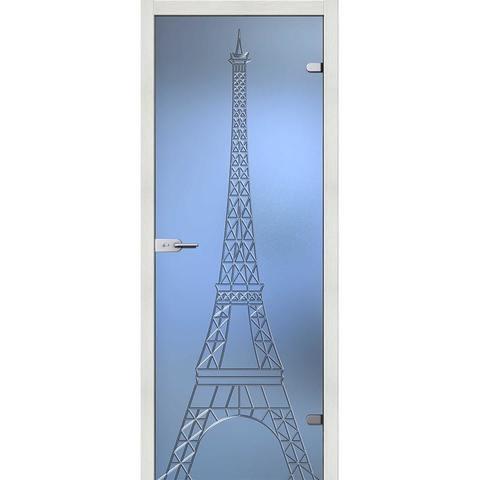 Башня стекло бесцветное матовое