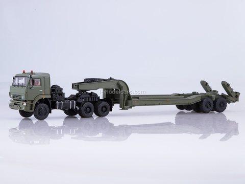 KAMAZ-65225 with semi-trailer CHMZAP-5247G 1:43 Start Scale Models (SSM)
