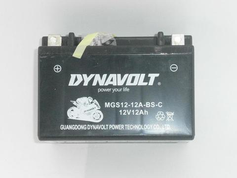 Аккумулятор DDE 12V/12Ah 6-FM-12 (MGS12-12A-BS-S) (+) слева  (150х85x130) для GG/GP/DPG  (UP188) бензиновые двигатели