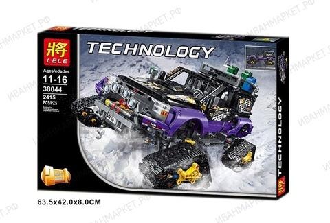 Конструктор Lele 38044 Technology 2в1 Экстремальные приключения  2415 дет.