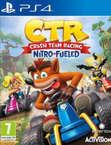 Sony PS4 Crash Team Racing Nitro-Fueled (английская версия)