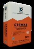 Стяжка  тепло-звукоизоляционная Теплопол  DeLuxe 12кг
