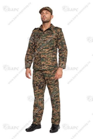 Камуфляжный костюм «BDU» Цифра Амереканская