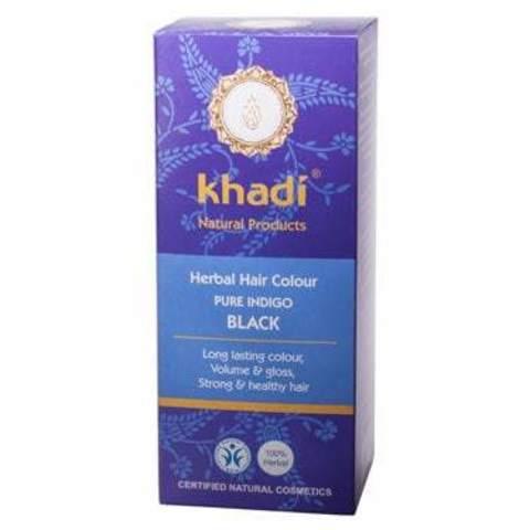 Индиго натуральная краска для волос Khadi Naturprodukte
