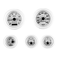 06365-ZW5-01BHE Комплект приборов 5 шт. белого цвета с проводкой