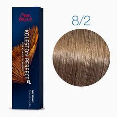Wella Koleston Deep Brown 8/2 (Светлый блондин матовый) - Стойкая краска для волос